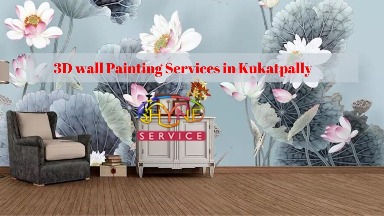 3d wall painting services in kukatpally