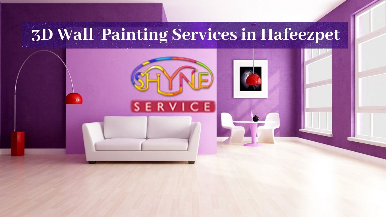3d wall painting services in hafeezpet