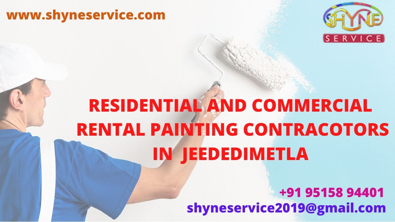 Residential and Commercial Rental Painting Contractors in Jeedimetla