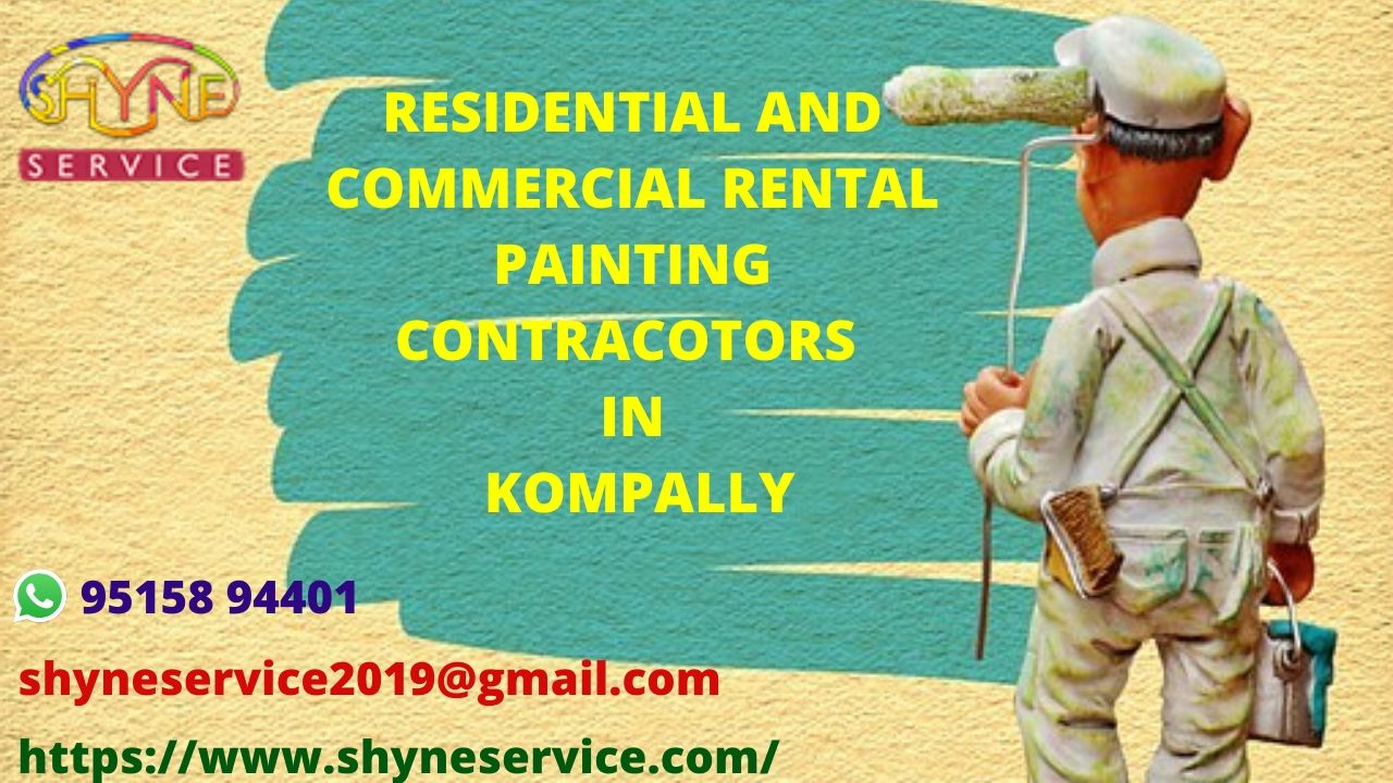 Residential and Commercial Rental Painting Contractors in kompally