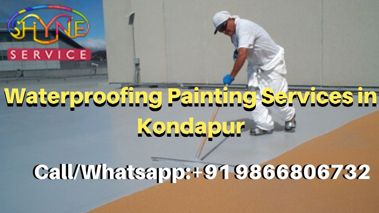 waterproofing painting services in kondapur