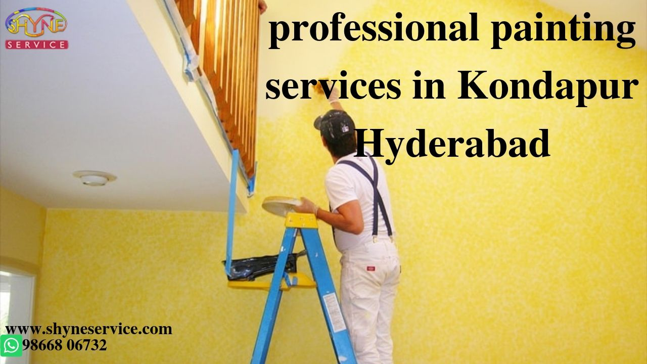 professional painting services in Kondapur Hyderabad
