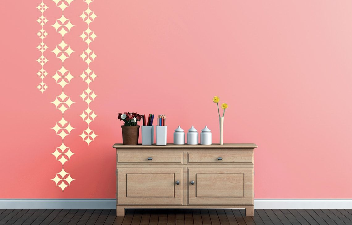 Stencil painting and painters
